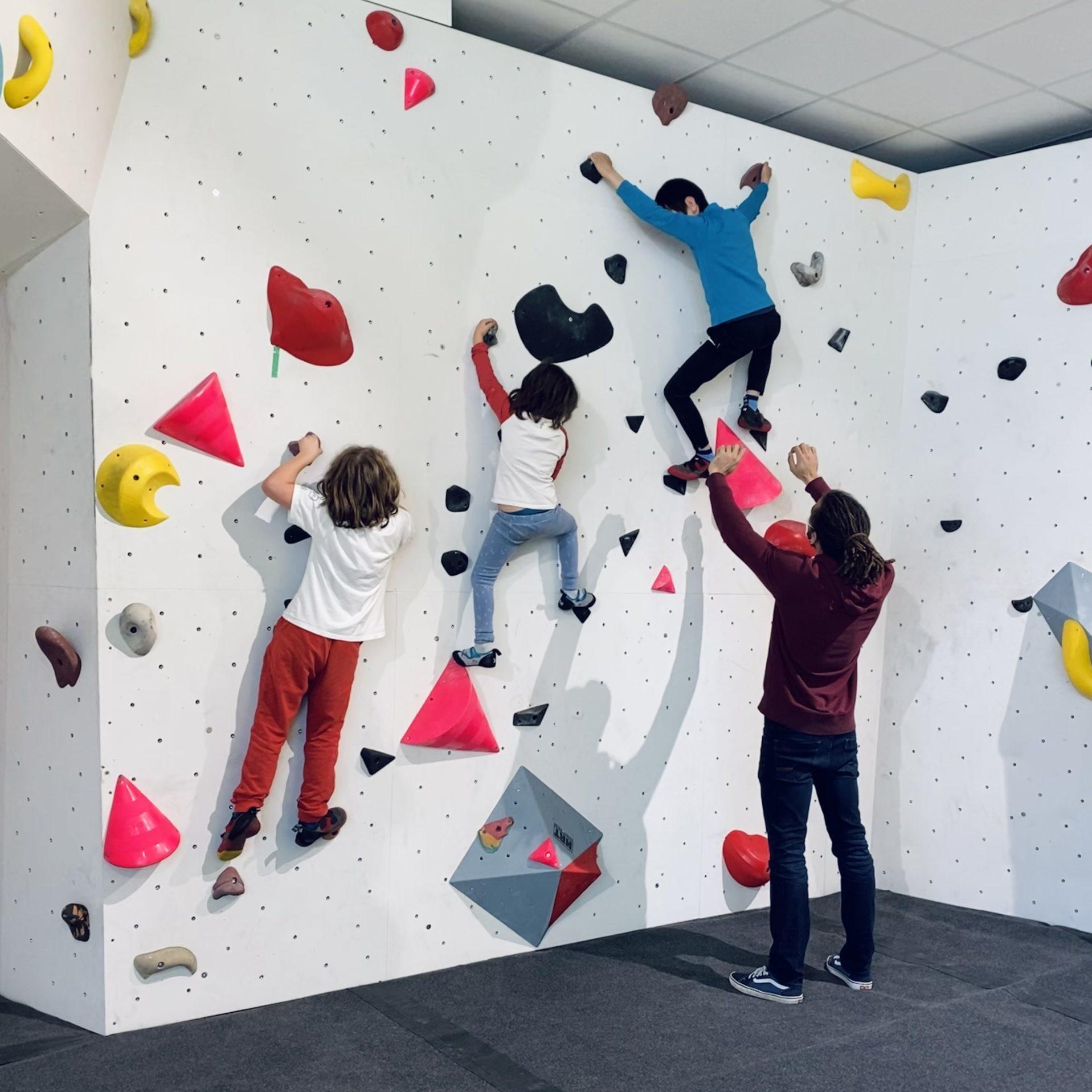 escalade enfants grimpe