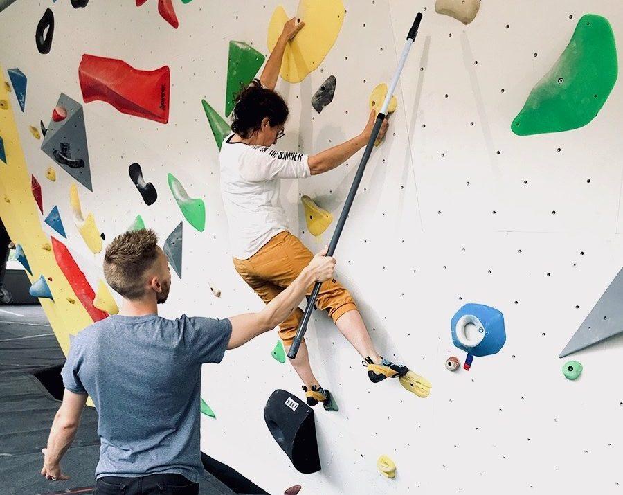 cours escalade grimpe